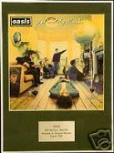 OASIS  -   DEFINITELY MAYBE  -   Framed LP Cover